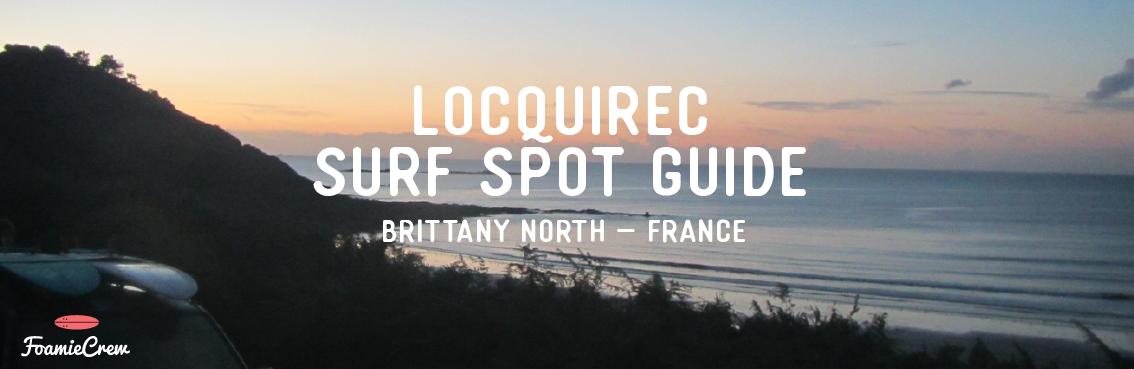 surfing in locquirec