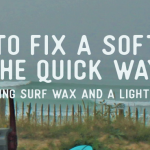 repair a soft top surfboard