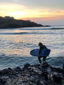 olaian 5'4 surfboard