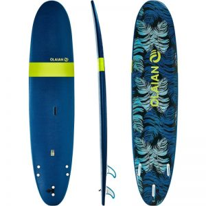 olaian 8'6 soft top surfboard