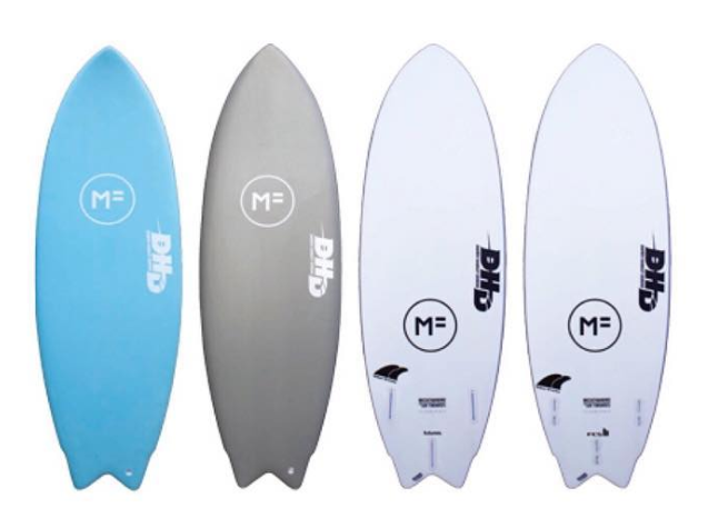 MF DHD Twin fin review