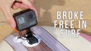 how to not mount gopro on soft surfboard