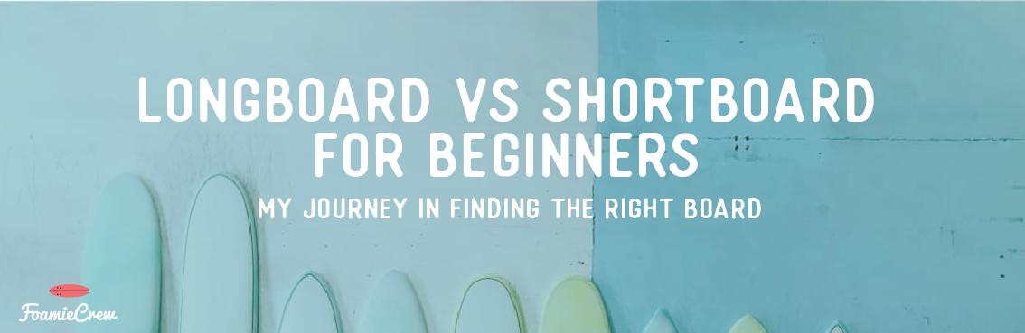 learn to surf longboard vs shortboard