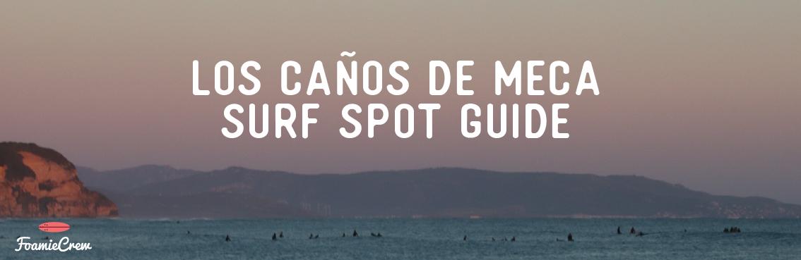 surf spots caños meca
